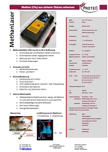 Flyer MethanLaser